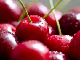 Fotobehang - Fruit - Kersen