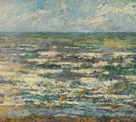 Schilderijbehang - Jan Toorop - De Zee bij Katwijk