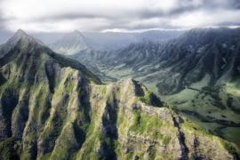 Fotobehang - Bergen - Hawaii