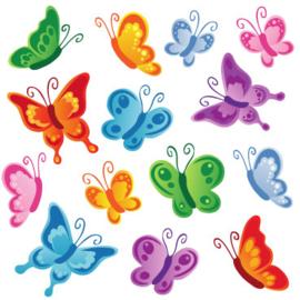 Fotobehang Kinderkamer - Vlinders