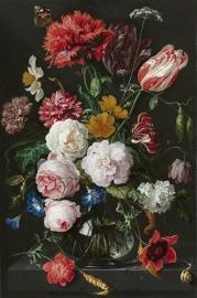 Schilderijbehang  met Stilleven - Stilleven met Bloemen - Jan Davidsz. de Heem