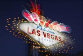 Fotobehang - Las Vegas - Neon