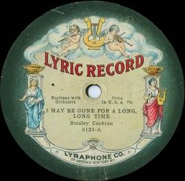 Fotobehang Muziek - Oude Gramofoonplaat - Old Record