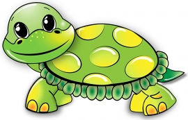 Fotobehang - Kinderkamer - Schildpad - Turtle