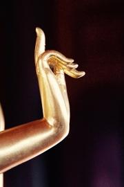 Fotobehang- Wellness - Buddha Hand