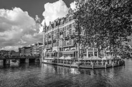 Fotobehang - Amsterdam - Amstel hotel