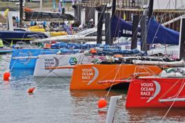 Fotobehang - Volvo Ocean Race ( Scheveningen )