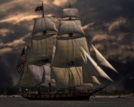 Fotobehang - Zee & Strand - Zeilschip - Sailing Ship