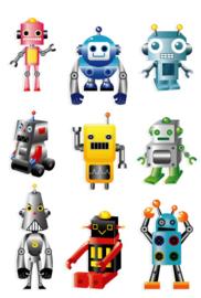 Fotobehang Kinderkamer - Robots