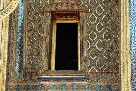 Fotobehang - Tempel Deur  - Temple Doorway