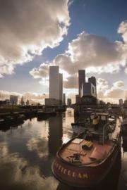 Fotobehang - Rotterdam schip ( staand )
