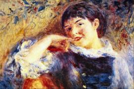 Schilderijbehang - Renoir - De Dromer - The Dreamer