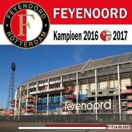 Fotobehang - Feyenoord - De Kuip op fotobehang !