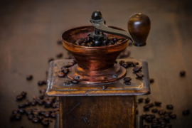 Fotobehang - Oude koffiemolen