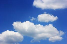 Fotobehang Wolken - Fotobehang Wolken II