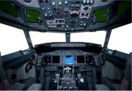Fotobehang - Kinderkamer - Vliegtuig cockpit