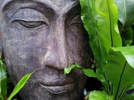 Fotobehang - Boeddha 8.