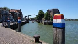 Fotobehang - Dordrecht - brug