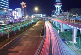 Fotobehang - Steden - Shanghai - Neon