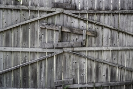 Fotobehang - Stilleven - Hek - Gate