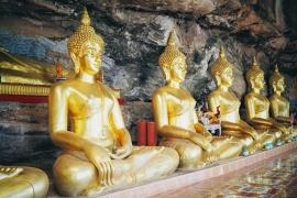 Fotobehang - Wellness - Tempel Buddhas - Temple Buddhas