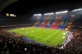Fotobehang - Sport -  Stadion Barcelona - BARCA
