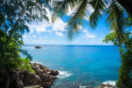 Fotobehang - Tropisch zeestrand - Coastline