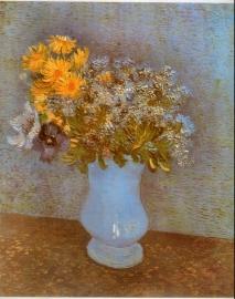 Schilderijbehang - Van Gogh - Seringen
