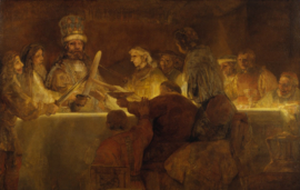 Schilderijbehang - Rembrandt - The Conspiracy of the Batavians