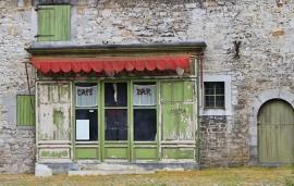 Fotobehang - Stilleven - Vintage Café - Old Café
