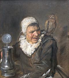 Schilderijbehang - Hals - Malle Babbe