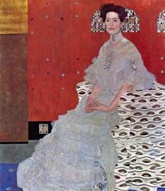 Schilderijbehang - Klimt - Fritza Reidler