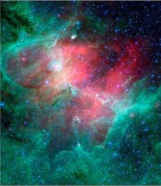 Fotobehang - Kosmos - Nebula 1