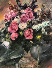 Schilderijbehang - Corinth - Stilleven met Rozen - Roses 1