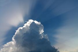 Fotobehang - Wolken