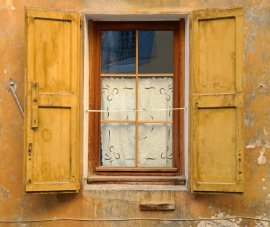 Fotobehang - Stilleven - Venster 1 - Window 1