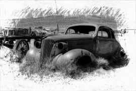 Fotobehang - Oldtimer - Classic Car 5