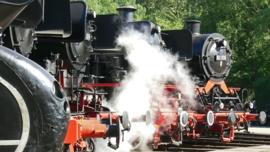 Fotobehang - Treinen - Locomotief - Locomotive