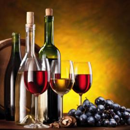 Fotobehang - Slijterij ( wijnen )