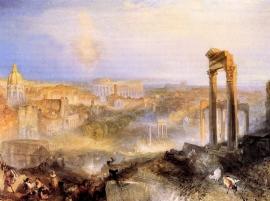 Schilderijbehang -Turner - Modern Rome