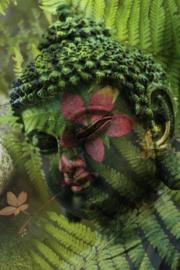 Fotobehang - Buddha standbeeld