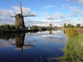 Fotobehang - Alkmaar Molens