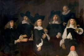 Schilderijbehang - Hals - De Regenten van het Oudemannenhuis