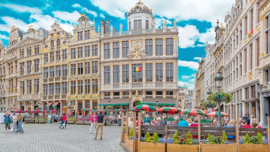 Fotobehang - Brussel - Grote Markt