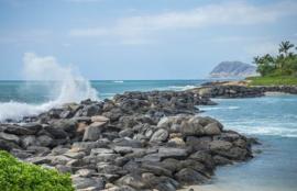Fotobehang - Tropisch strand - Hawaii