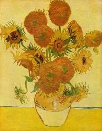 Schilderijbehang - Van Gogh - Still life with Sunflowers