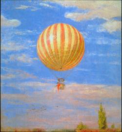 Schilderijbehang - Merse - The Baloon