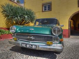 Fotobehang - Oldtimer - Opel