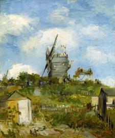 Schilderijbehang - Van Gogh - Blute Fin Windmill