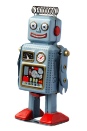 Fotobehang - Robot - Happy robot